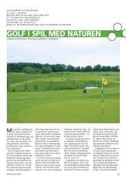Til golf i skoven - Grønt Miljø