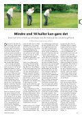 Til golf i skoven - Grønt Miljø - Page 7