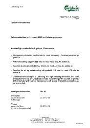 Den 11. juni 1996 - Carlsberg Group
