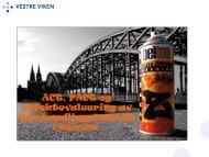 ACT, FACT og effektevaluering av ... - Vestre Viken HF