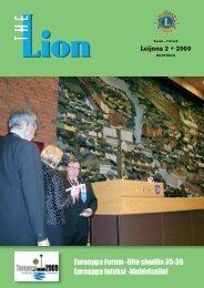 2/2009 huhtikuu (pdf, 4,1 Mt) - Suomen Lions-liitto ry