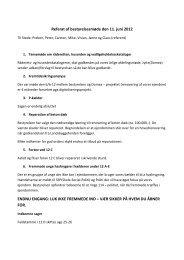 Bestyrelsesmøde d. 11-06 2012 - Domea