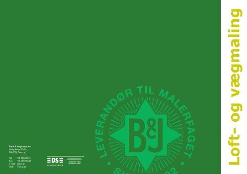 Loft- og vægmaling, 09-2012 - Beck & Jørgensen