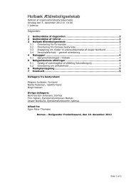 Standard OB-dagsorden - Domea