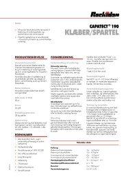 KlæbeR/spaRtel - Rockidan
