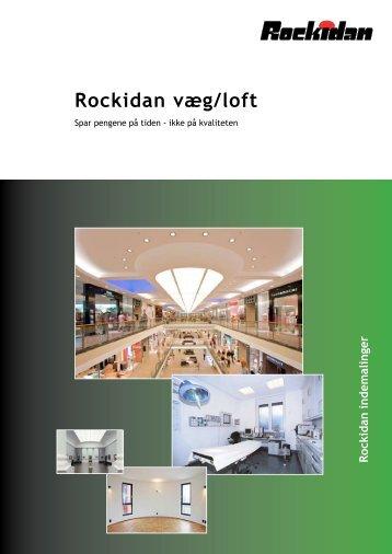 Rockidan væg/loft
