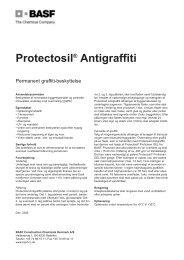 Protectosil Antigraffiti.qxp - BASF