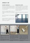 ARDEX SPARTEL MASSER TIL EPOXYGULVE - Page 3