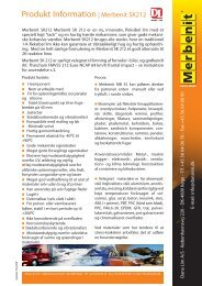Produkt Information| Merbenit SK212 - Dana Lim A/S