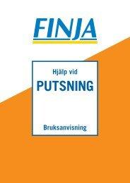 PUTSNING - Finja