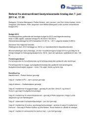Referat fra ekstraordinært bestyrelsesmøde tirsdag den 7. juni 2011 ...