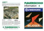 information - C. Flauenskjold A/S