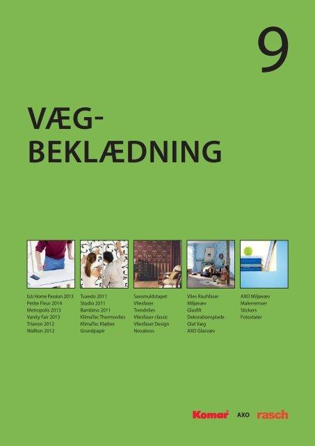 Vægbeklædning - C. Flauenskjold A/S