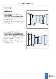 Indervægge Vægsystemer - Gyproc