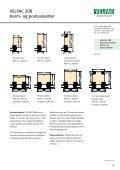 VELFAC 200 Moderne vinduer - ProductInformation.dk - Page 3