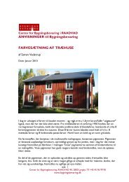 Farvesætning af træhuse - Center for Bygningsbevaring