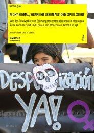 Zur Broschüre (pdf) - Amnesty International, CASA