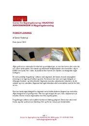 ANVISNINGER til Bygningsbevaring FORGYLDNING - Center for ...