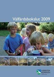 Välfärdsbokslut 2009.indd - Härryda kommun
