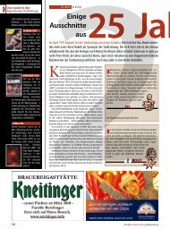 In & Out - Regensburger Stadtzeitung