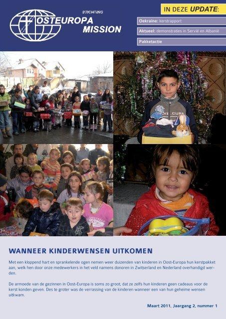 WANNEER KINDERWENSEN UITKOMEN - Osteuropa Mission