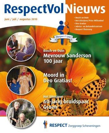 Moord in Deo Gratias! - RESPECT Zorggroep Scheveningen