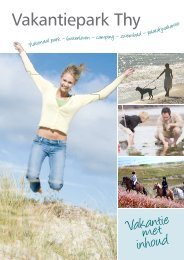 Brochure - Hanstholm Camping