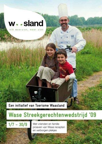 Wase Streekgerechtenwedstrijd '09 - Toerisme Oost-Vlaanderen