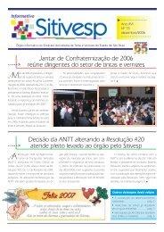 Edição nº 75 - dezembro/2006 - Sitivesp