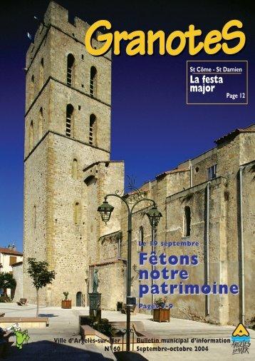 Granotes n°60 - Ville - Argelès-sur-Mer
