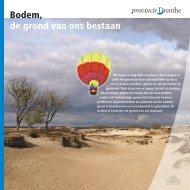 Bodem, de grond van ons bestaan - Provincie Drenthe