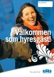 Inflyttningsbroschyr - AB Enköpings Hyresbostäder