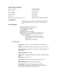 RESUME FOR MR - ict consults