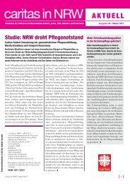 Den kompletten Newsletter zum Download als PDF ... - Caritas NRW