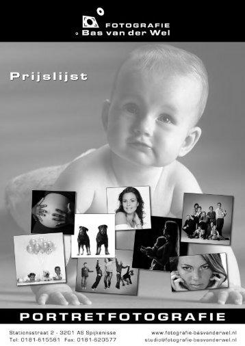 Download hier de prijslijst mei 2013 pdf - Fotografie Bas van der Wel
