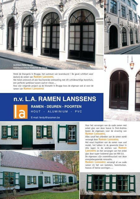 Hotel Hoeve En Herenwoning Download Pdf La Ramen Lanssens