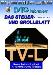grollblatt online 2010 10 - Dstg-Berlin
