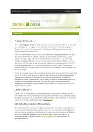 "Hans værk er vi …"" LederOase 2010 ... - DanskOase.dk"