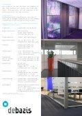 DBZ 100 Glaswand horizontale elementen dubbel glas - Debazis - Page 2