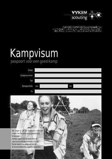 Digitale versie van het Kampvisum - Scouts en Gidsen De Pinte