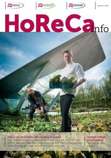Horeca Info nr. 4 2012 - FNV Catering