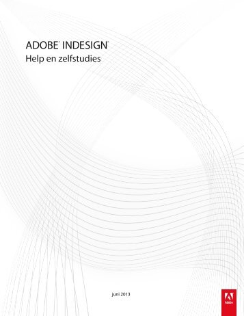 Handleiding InDesign - Adobe