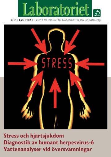 Stress och hjärtsjukdom - Institutet för biomedicinsk ...