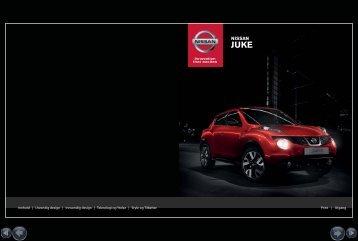 Brosjyre - Nissan