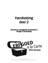 kist 2_handleiding2_sept08 - Erfgoed à la Carte Den Helder