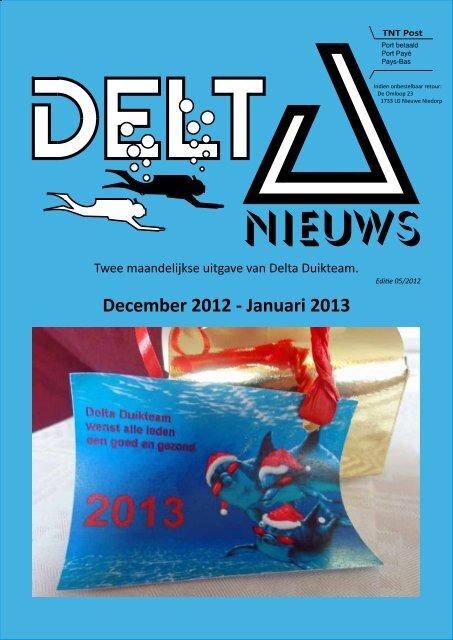 December 2012 - Januari 2013 - Delta Duikteam