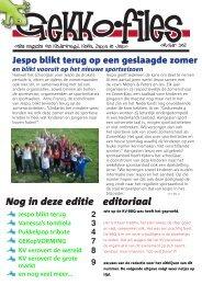 Jaargang 4, nr. 3 - oktober 2011 - Kindervreugd