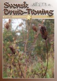 Nr 8 oktober 2010 76 årgången - svenska druid-orden