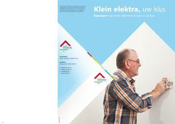 PDF Klein elektra, uw klus download - SVT
