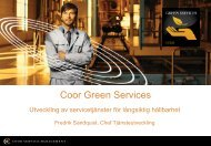 Coor Green Services - SMGC